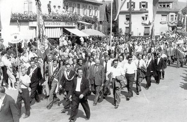 1952 - Bundesliederfest in Aalen